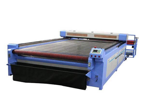 Portálový stroj na rezanie a gravírovanie CO2 laserom na tkaniny 160260S